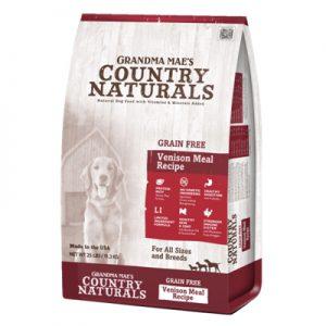 Country Naturals格然斯 鄉村時光 鹿肉 無榖成幼犬配方 4磅