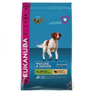 優卡Eukanuba 高齡犬羊肉加米 活力健康犬糧12kg 1入