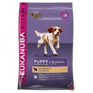 優卡Eukanuba 幼犬羊肉加米 活力健康犬糧2.5kg 1入