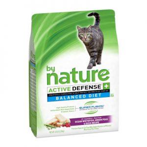 by Nature大自然 均衡飲食天然貓糧 海洋白魚+鴨與蔬果配方 4.8磅