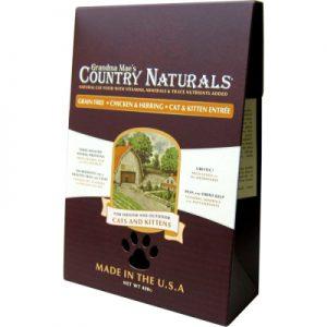 Country Naturals格然斯鄉村時光 雞肉鯡魚 無穀成幼貓配方12磅/5.4kg
