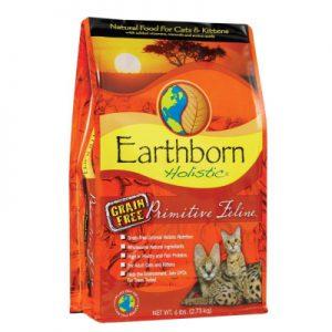 原野優越Earthborn《農場低敏無縠貓(火雞肉+鮭魚+蔓越莓)》5磅