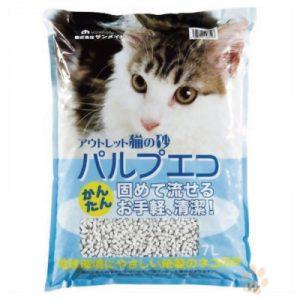 Sanmate 愛地球貓紙砂7L