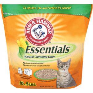 ARMHAMMER鐵鎚牌 凝結天然玉米貓砂 10.5磅 x 1入
